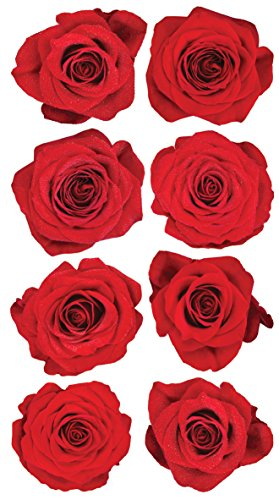 Sticko EK Success Red Roses Stickers