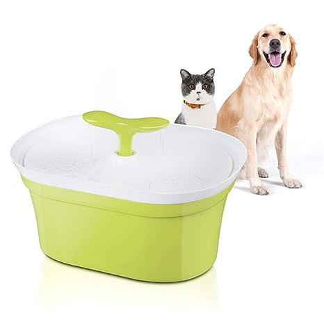 Ydq Bebedero Gatos AutomáTico Fuente De Agua Gatos Y Perros,con 3 Modos Filtros,