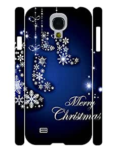 Flexible Hipster Snowmen Photo Specialized Hard Plastic Phone Accessories Shell for Samsung Galaxy S4 I9500 Case