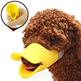 LOVEHOS Anti-bite Muzzle Dog Mouth Cover Duck Mouth Shape (L)