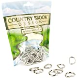 50 - Country Brook Design® 3/4 Inch Welded D-Rings