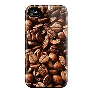 Defender Case For Iphone 4/4s, Coffee Beans Pattern