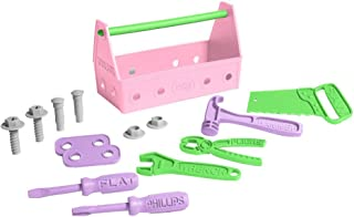 product image for Green Toys Tool Set, Pink, Open Box