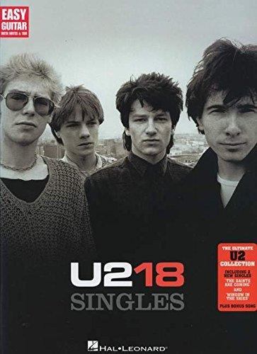 U2 - 18 Singles (Easy Guitar with Notes & Tab) (Singles Guitar Tab)