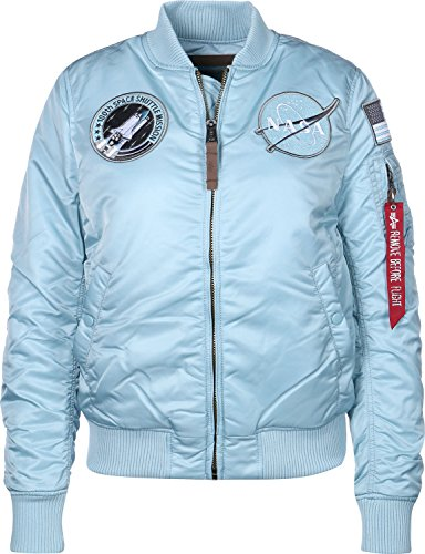 FV W Blue Alpha blouson Nasa Industries Air 1 MA wqt1vP