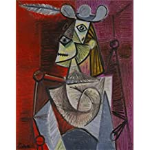 Oil Painting 'Woman In An Armchair' Printing On Perfect Effect Canvas , 16x20 Inch / 41x52 Cm ,the Best Hallway Artwork And Home Decoration And Gifts Is This High Definition Art Decorative Prints On Canvas