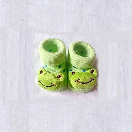 bebé Kid para recién nacido 3d Cartoon corto calcetín Slipper ...