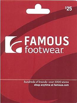 $25 Famous Footwear Gift Card