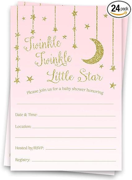 Twinkle Twinkle Little Star Baby Shower  50 Count  Twinkle Twinkle Little Star Confetti  Twinkle Twinkle Little Star Gender Reveal