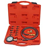 Full System Automotive Engine Oil Pressure Test Kit Tester Car Garage Tool 0-140PSI