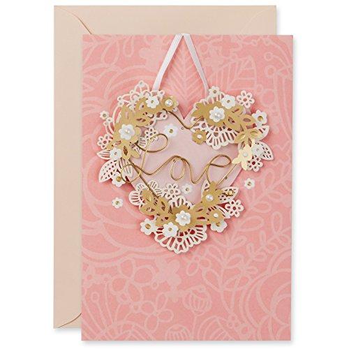 Hallmark Signature Valentine's Day Card: Wire Heart Love