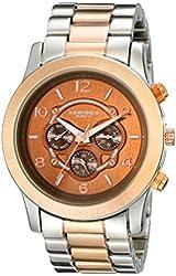 Akribos XXIV Women's AK583BR Ultimate Quartz Multi-Function Bracelet Watch