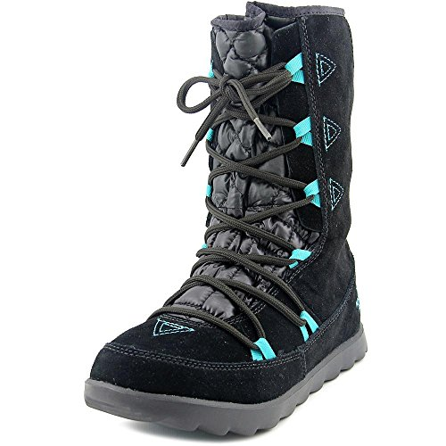 The North Face Thermoball Utility Boot Women's TNF Black/Kokomo Green 8 North Face Womens Boots