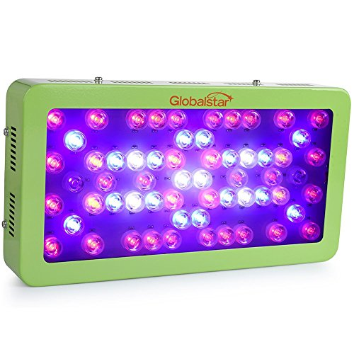 Global Star® LED Grow Light 360W (60x6W), Full Spectrum Plant Grow Lights for Indoor Plants Hydroponics Garden Veg and Flowering