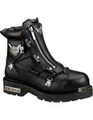Harley-Davidson Mens Brake Light Riding Motorcycle Boot, Black, 10.5W