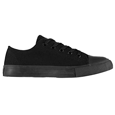 Lee Cooper Mens Lace Up Canvas Lo Shoes Trainers Footwear  Amazon.co ... 0178e6bf3bd