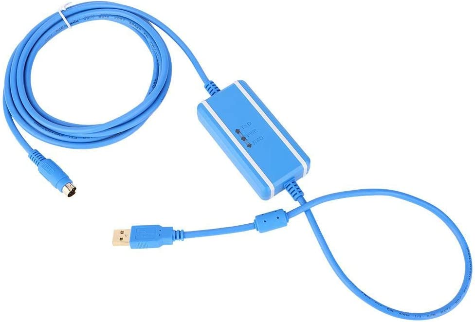Oumefar Programming USB-SC09-FX Durable Cable for PLC Programming