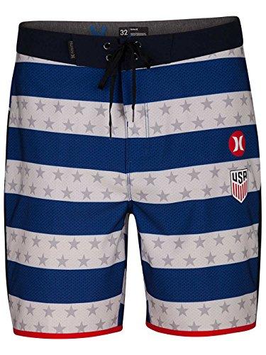 Hurley AJ7270 Men's Phantom USA Home National Team Board Short, White - 33 (Shorts Hurley White)