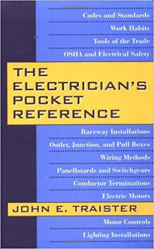 Astounding The Electricians Pocket Reference John Traister 9780070653375 Wiring Digital Resources Dimetprontobusorg