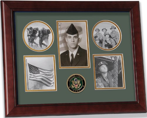 Patriotic Photo Frame (Allied Frame United States Army Small Collage Frame)