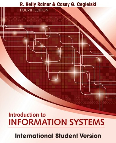 Introduction to Information Systems.