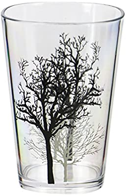 Corelle Coordinates Timber Shadows Acrylic Juice Glasses