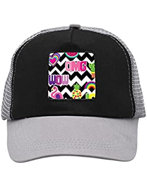 Unisex OMG Fruits Flamingo Adjustable Classic Hiphop Hat Baseball Cap Snapback Dad Hat