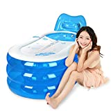 Single Inflatable Bathtub Thickening Children 's Bath Tub