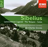 Sibelius: Lemminkainen Legends, The Tempest: Suites, Tone Poems; Sir Charles Groves