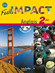Full impact 2de - Livre élève + CD - Ed.2010