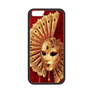 IPhone 6 Plus Venice mask Phone Back Case Use Your Own Photo Art Print Design Hard Shell Protection LK099311