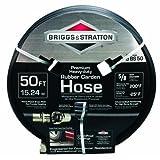 Briggs & Stratton 8BS50 50-Foot Premium Heavy-Duty Rubber Garden Hose