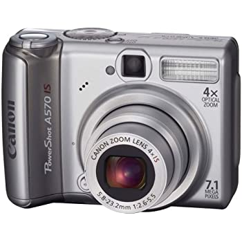 Amazon.com : Canon PowerShot A570IS 7.1MP Digital Camera
