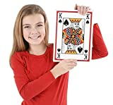 #8: Neliblu Playing Cards Jumbo Deck of Cards 8.5