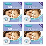 Health & Personal Care : Lansinoh Nursing Pads Stay Dry 60 Each ( Pack of 4 )