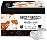 Bestpresso Coffee, Breakfast Blend Single Serve K-Cup, 72 Count (Compatible with 2.0 Keurig Brewers) 6 packs of 12 cups