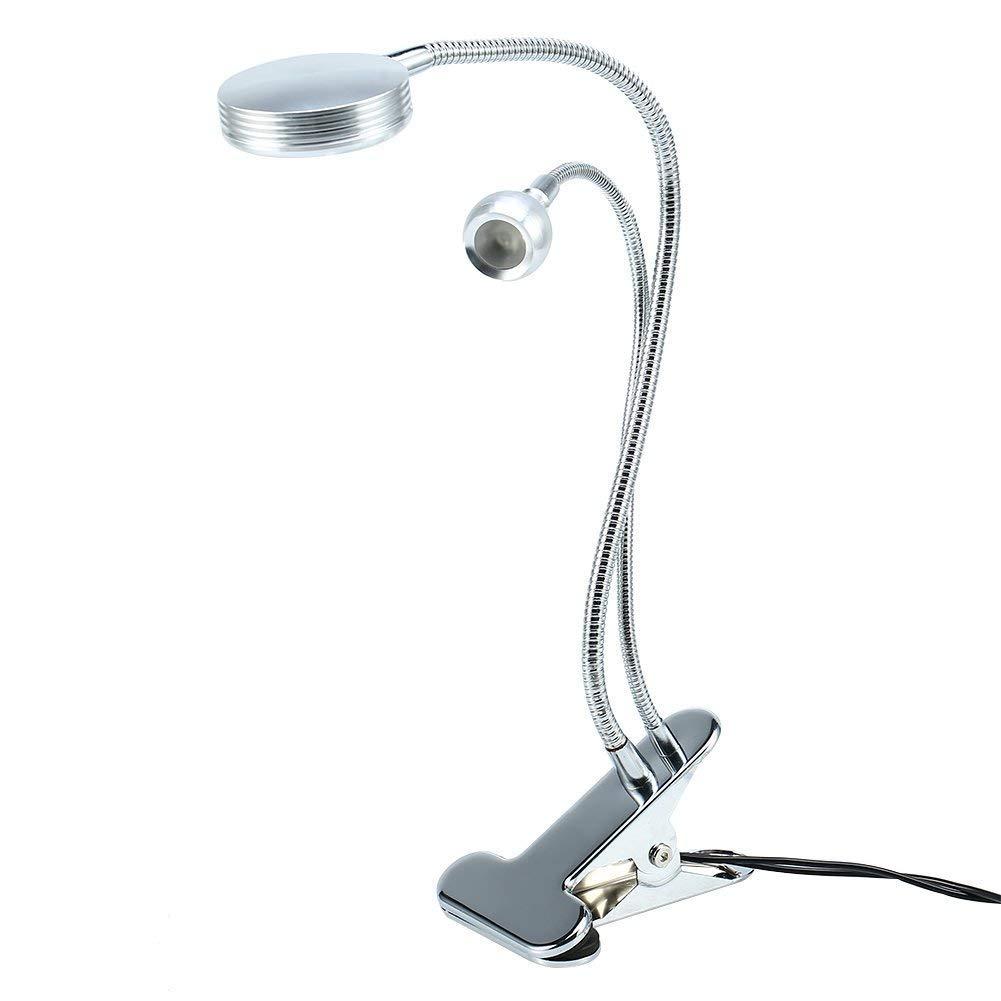Tattoo Light extension de cils pour les sourcils studio de tatouage de massage soin des yeux maquillage manucure lampe de lecture pliable Lampe /à pince portable USB