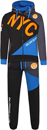 Age 7 to 13 Years SS7 Boys Design Full Tracksuit
