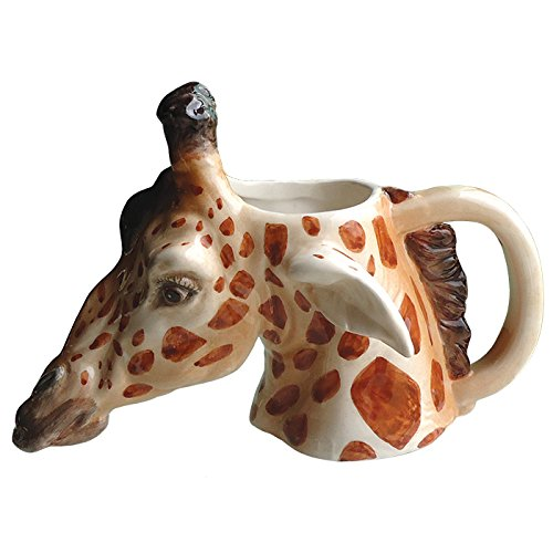 Giraffe Mugs | Kritters in the Mailbox | Giraffe Coffee Mugs