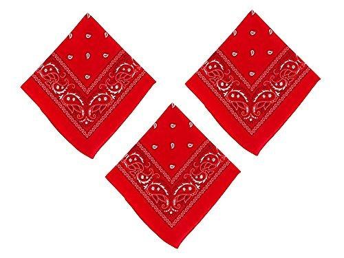 Xx Large Red Bandana - 1