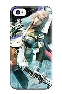 Best 3163474K16910619 Quality Case Cover With Final Fantasy Nice Appearance Compatible With Iphone 4/4s