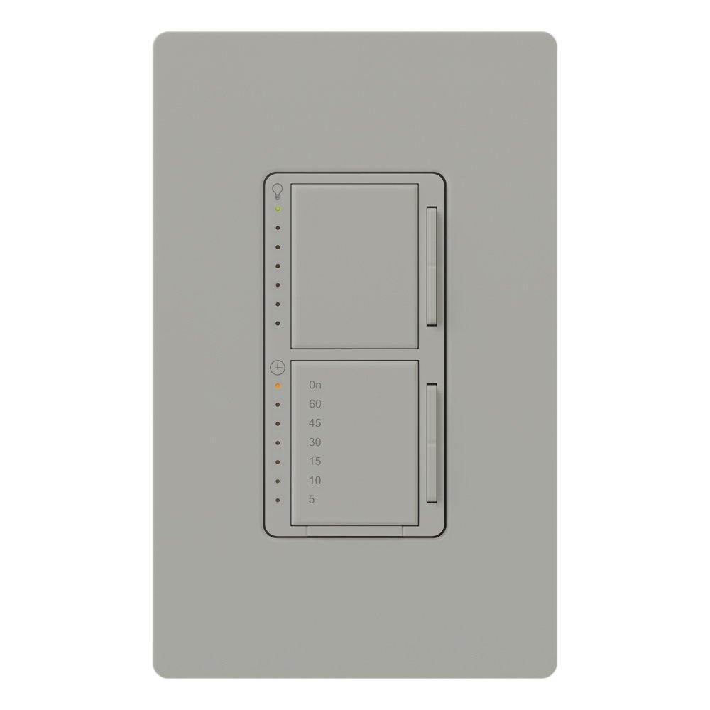 LUTRON(ルートロン) マエストロ 減光およびタイマースイッチ 300ワット 単極 MA-L3T251-GR 1 B0017O4W1Q グレー グレー