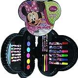 minnie mouse school supplies - Minnie Bowtique Shaped 24pc Art Set in Plastic Case