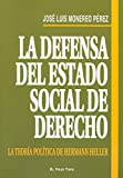 img - for La defensa del estado social de derecho book / textbook / text book