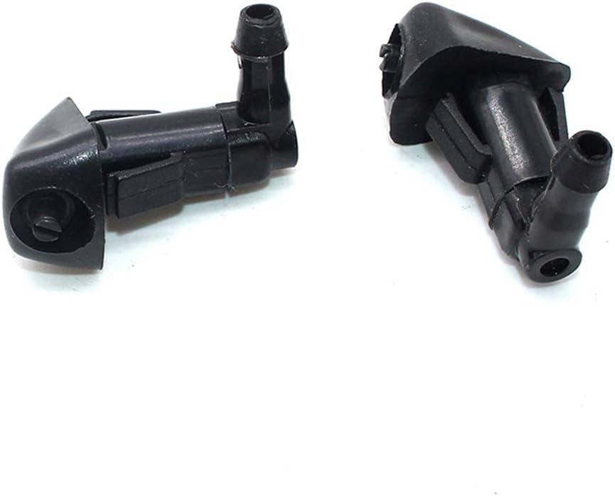 Accord VAILANG 2 Pezzi//Coppia ugello Nero per lavacristalli Auto tergicristallo per lavacristallo per Honda- ugello lavavetri Nero