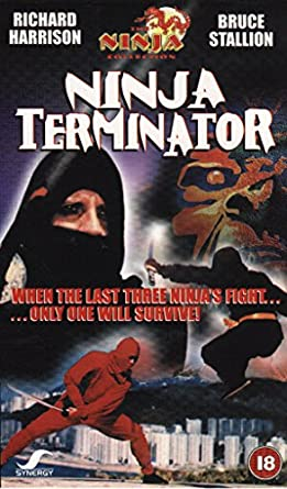 Amazon.com: Ninja Terminator [VHS]: Richard Harrison, Jang ...