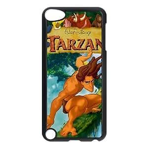 ipod 5 Black phone case Classic Style Disney Cartoon Tarzan WHD8973252