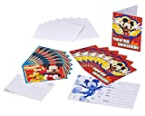 American Greetings Mickey Mouse Party Supplies, Invite and Thank You Combo Pack, 8-Count