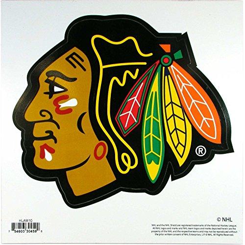 Siskiyou NHL Chicago Blackhawks 8 inch Automotive Magnet