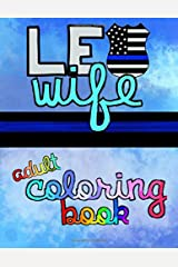 LEO Wife Adult Coloring Book Paperback